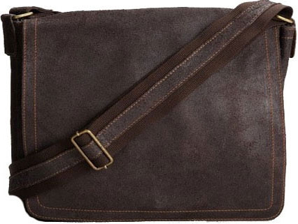 Edmond Leather Vintage Messenger Bag (Medium) 7263