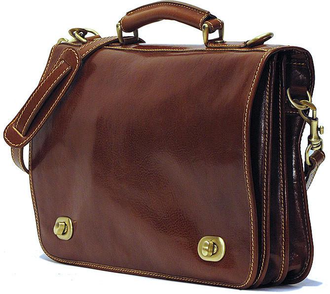 Floto Roma Messenger Bag 106 Italian Leather Messenger Bag Briefcase
