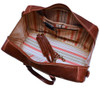Floto Venezia Leather Duffle Bag Vecchio Inside