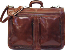 Floto Venezia Garment Bag Brown