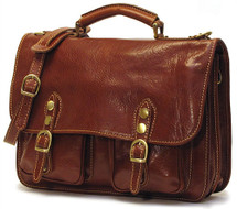 Floto Poste Messenger Bag Brown