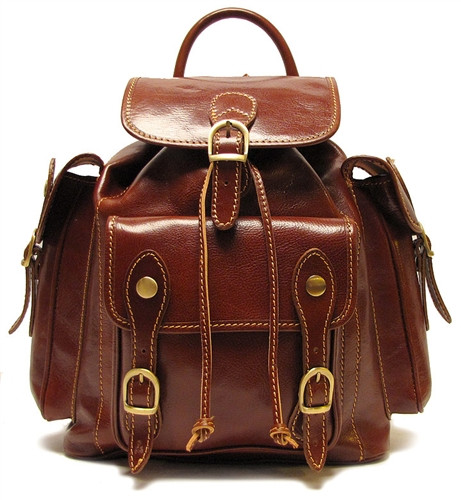 Floto Roma Pack 4051 Italian Leather Backpack