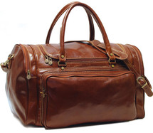 Floto Torino Duffle Bag Brown
