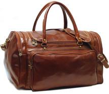 Floto Torino Duffle Bag Brown