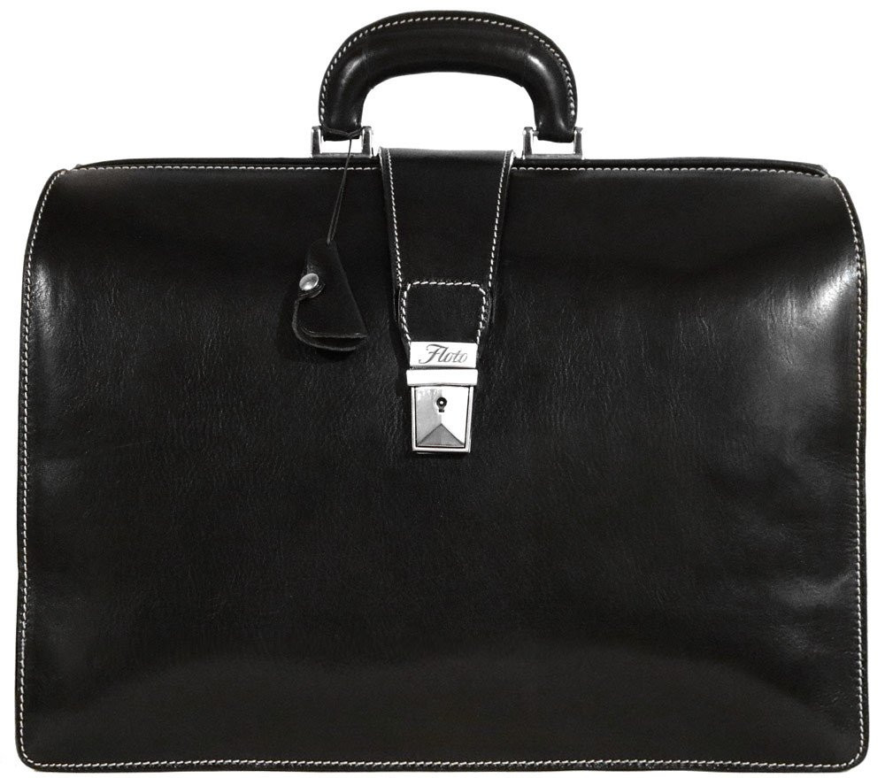 floto ciabatta briefcase leather briefcase 4521 italian leather