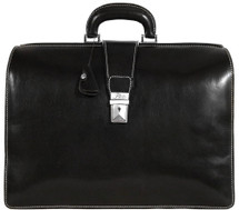 Floto Ciabatta Briefcase (Black)