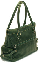 Floto Monticello Handbag Green