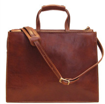 Floto Trastevere Attache Brown
