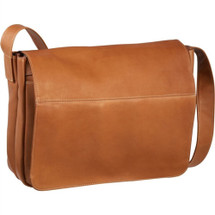 Le Donne Full Flap Laptop Messenger Bag