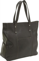 Le Donne Large Slip Pocket Tote 7011