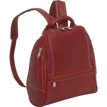 Le Donne U Zip Mid Size Woman's Backpack
