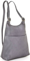 Le Donne Women's Slim Sling Backpack 961