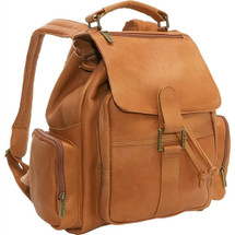 Le Donne Classic Multi Pocket Backpack BP01