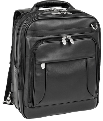 McKlein Lincoln Park Leather Backpack Briefcase
