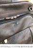 McKlein Lincoln Park Leather Backpack Briefcase Monogram