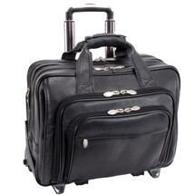 McKlein Gold Coast Wheeled Leather Briefcase 43185