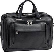 McKlein West Loop Leather Briefcase 4457