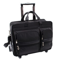 McKlein Clinton Wheeled Briefcase 58445