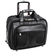 McKlein Chicago Wheeled Briefcase 7358