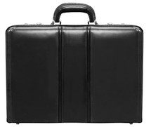 McKlein Daley Leather Attache Case (Black)