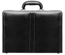 McKlein Harper Leather Attache Case (Black)