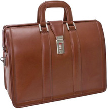McKlein Courthouse Litigator Leather Briefcase 8334