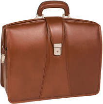 McKlein Harrison Leather Briefcase 8338