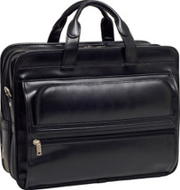 McKlein Elston Leather Business Briefcase 8648