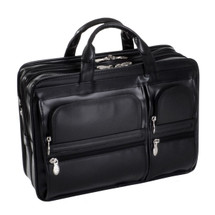 McKlein Hubbard Leather Briefcase 88435