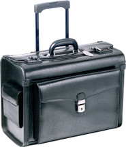 Mancini Deluxe Wheeled Catalog Case 90459 Black