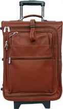 Piel Leather 19 Inch Multi-Pocket Wheeler Saddle