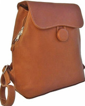 Piel Leather Ladies Backpack Saddle