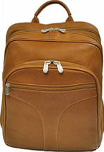 Piel Leather Checkpoint Friendly Urban Backpack Saddle