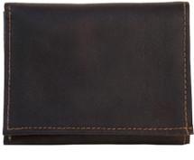Piel Leather Tri-Fold Wallet 9053