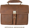 Pratt Leather Roussel Valise Monogram