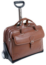 Siamod Carugetto Italian Leather Wheeled Case 4529