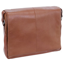 Siamod San Francesco Leather Messenger Bag 4535