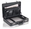 "Solo Classic Collection 16"" Attache Case Open"