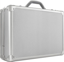 "Solo 17"" Aluminum Laptop Attache Case AC100"