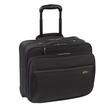 "Solo Classic Collection 16"" CheckFast Rolling Laptop Case CLA902"