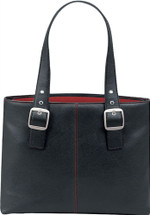 "Solo Classic Collection 16"" Red Lined Tote K709"