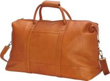 Edmond Leather Deluxe Weekender Duffle Bag D261