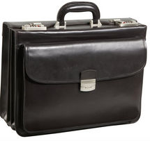 Amerileather Modern Attache Leather Executive Brief