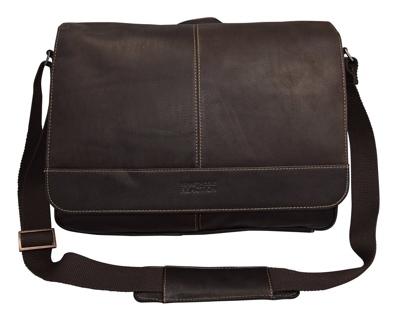 Kenneth Cole Reaction Risky Business Colombian Messenger Bag 52454 Loading Zoom