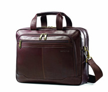 Samsonite Colombian Leather Toploader Briefcase 50792