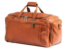 Claire Chase Bordeaux Duffel Saddle