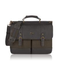 """Solo Bradford 15.6"""" Briefcase EXE336"""