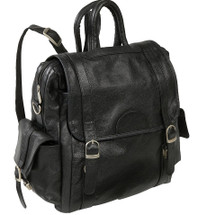 Amerileather Three Way Backpack Black
