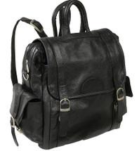 Amerileather Three Way Backpack Black