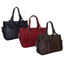 Amerileather Sophisticated Leather Shopper Bag 1831